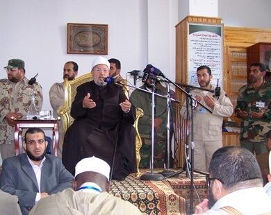 Al-Qaradhawis_sermon_in_Benghazi