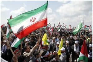 Iranian_and_Hezbollah_flags_waved_at_the_rally_at_the_Beaufort_Castle