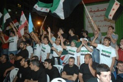 Al-Mustaqbal_rally_in_solidarity_with_Syrian_people