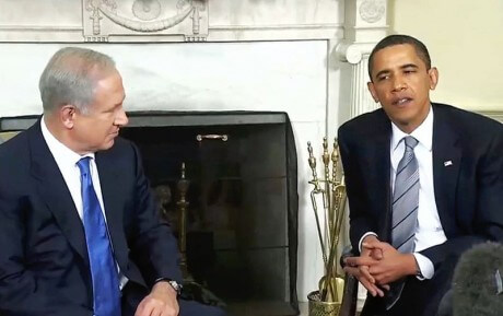 Obama Is Using The Threat Of A UN Resolution That Would Divide The Land Of Israel To Blackmail Netanyahu