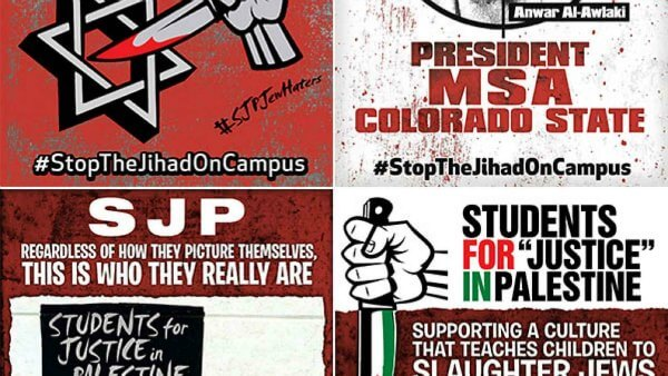 #StopTheJihadOnCampus | Stop the Jihad on Campus Campaign Combats Pro-Terror Groups