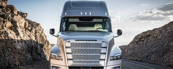 the Freightliner Inspiration Truck