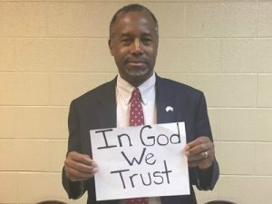"I stand against the liberal progressives who filed a lawsuit in Ohio to take ""In God We Trust"" off of our currency."