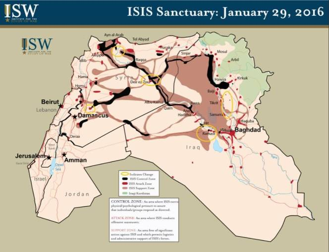 ISIS Sanctuary: January 29, 2016