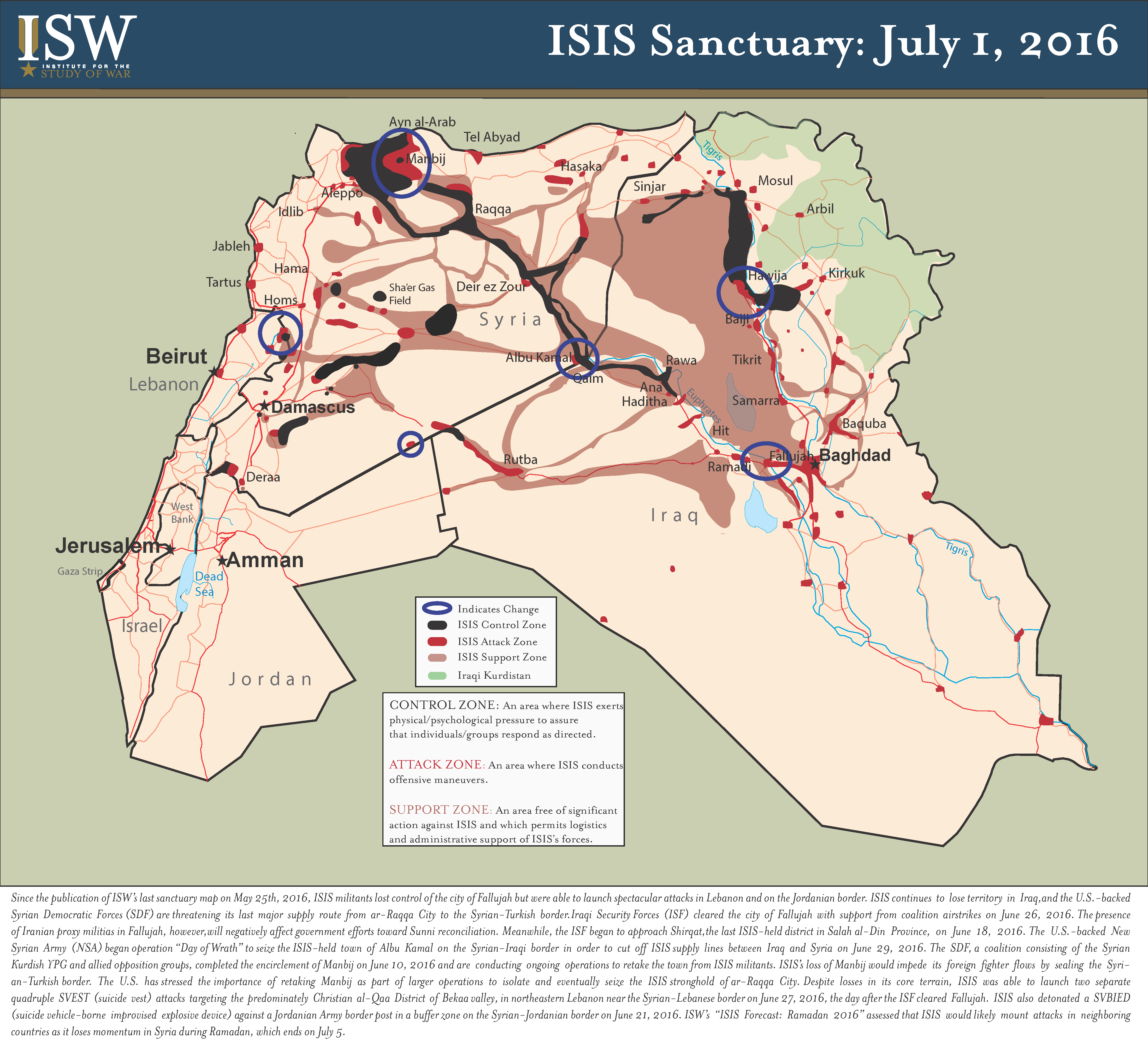 ISIS SANCTUARY MAP JULY   Right Side News - Isis location map in us
