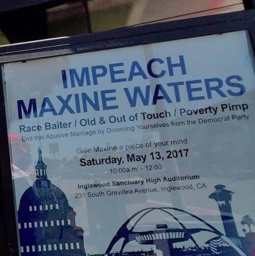 Maxine Waters Poverty Pimp